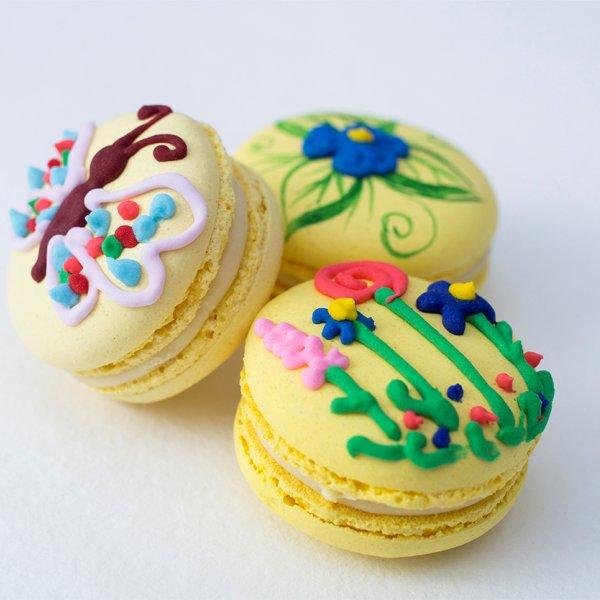 Macarons cu fluture