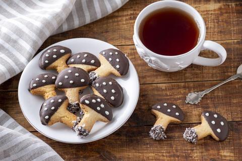 Biscuiți Ciupercute