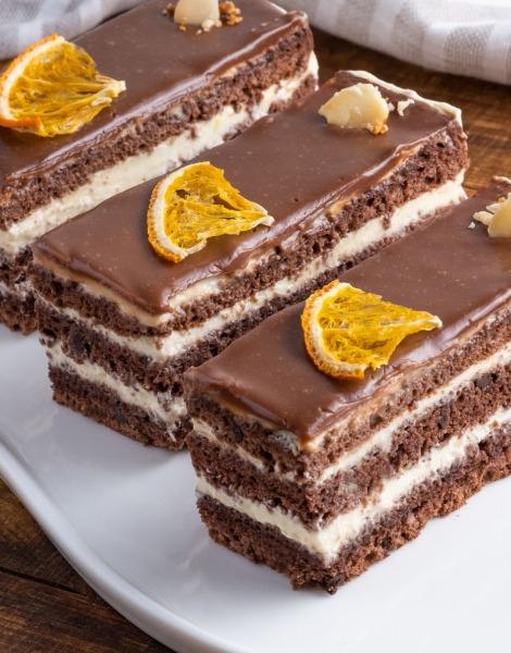 Prăjitură clasică cu portocală