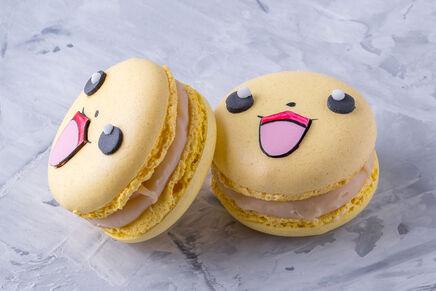Macarons cu decor POKEMON 1