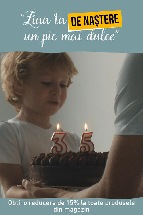 "Oferta ""Ziua ta de Naștere un pic mai Dulce"""