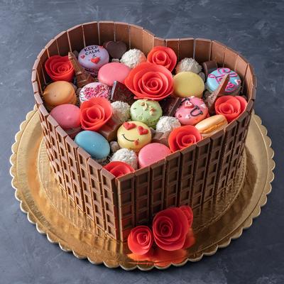 Tort Inima cu ciocolata