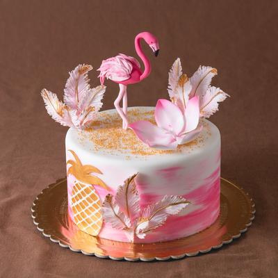 Tort cu flamingo