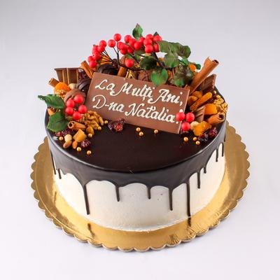 Tort drip cu ciocolata