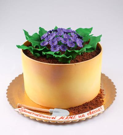 Tort Giveci cu flori