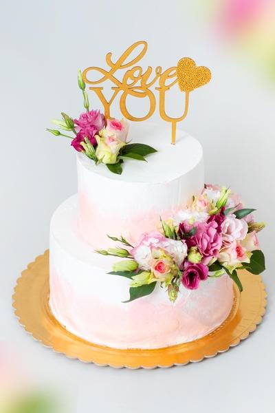 Tort pentru nunta Love You