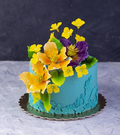 Tort turcuaz