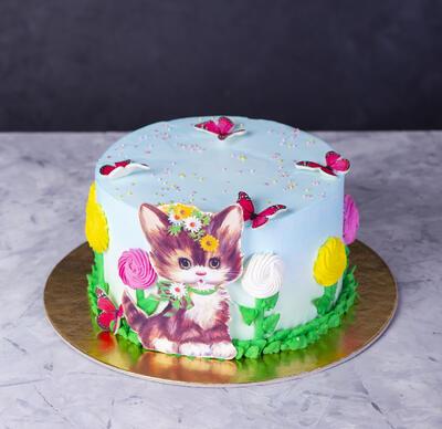 Tort cu pisic