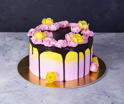 Tort floricele