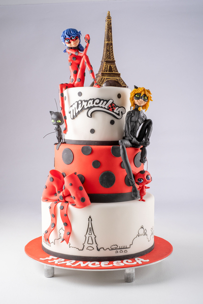 Tort  Ladybug et Chat Noir