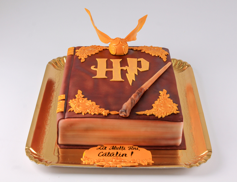Tort Carte Harry Potter